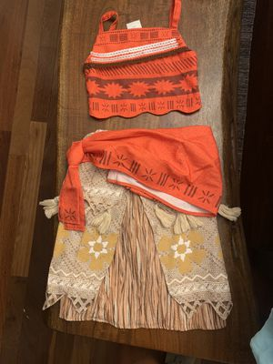 Moana costume size 4 for Sale in Pasadena, CA