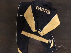 Saints Athletic Reebok Track Suit Kids Size 7 for Sale in Carrollton, TX