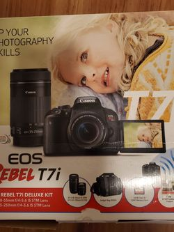 Canon EOS REBEL T7I TWO LENS KIT for Sale in Austin,  TX