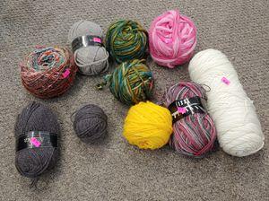 Assorted Craft Yarn $6.00 Each for Sale in Burlington, NC