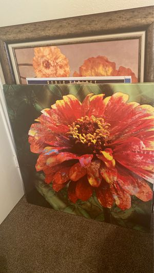 Flower canvas for Sale in Sachse, TX