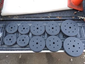 100 pounds of free weights for Sale in Duluth, GA