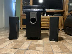 Onkyo speakers with sub for Sale in Glendale, AZ