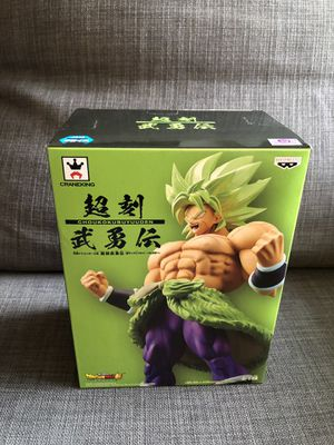 Broly statue figure Dragon Ball Z Super Broly Movie Choukokubuyuuden Series for Sale in Yorba Linda, CA