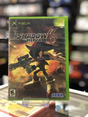 Shadow of the Hedgehog for the Xbox for Sale in San Bernardino, CA