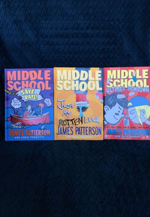 James Patterson Middle School book series for Sale in Poway, CA