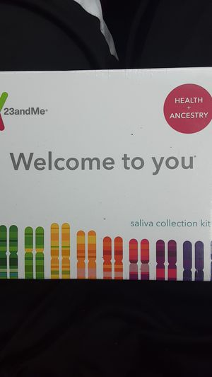 23 & Me Health + Ancestry Kit. for Sale in Renton, WA