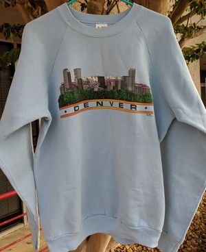 1980s? Vintage. Denver Colorado sweatshirt. Made in USA. Insanely soft and elegant. for Sale in San Antonio, TX