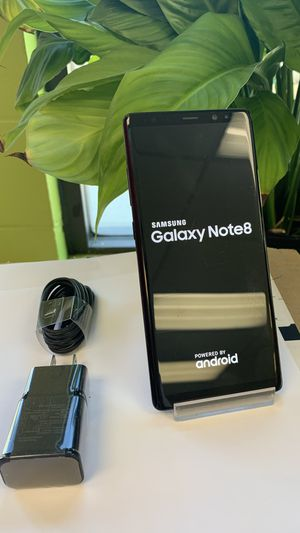 Samsung galaxy Note 8 64gb unlocked excellent condition for Sale in Boston, MA