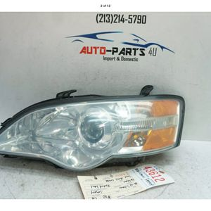 2006 2007 SUBARU LEGACY LEFT DRIVER HALOGEN HEADLIGHT OEM UC43612 for Sale in Lynwood, CA