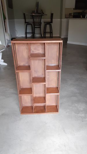 Wooden sectional display box for Sale in Lutz, FL