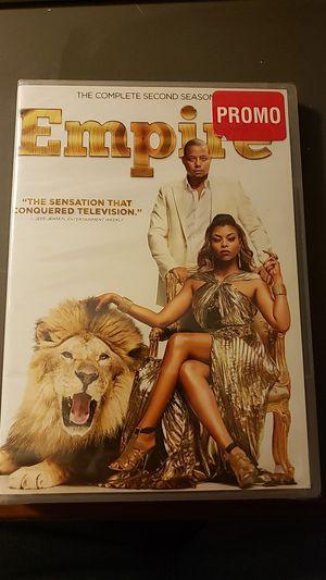 Empire the complete second season for Sale in Norwich, NY