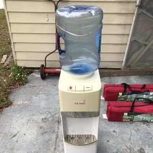 Primo Water Cooler: Hot and Cold water, LED night light, 5 Gallon system for Sale in St. Petersburg, FL