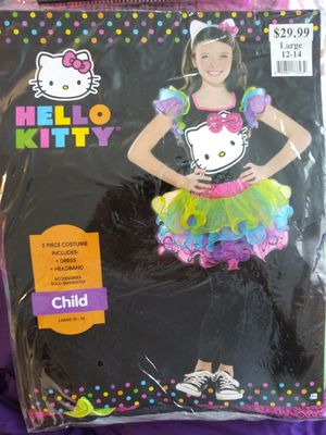 Hello Kitty kids costume for Sale in Bell Gardens, CA