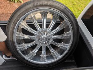 24 inch wheels and tires for Sale in Silver Spring, MD