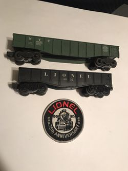 1950's Lionel O scale Multi Car & 75th Anniversary Patch Combo for Sale in San Angelo,  TX