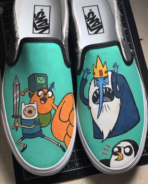 Custom Adventure Time Vans for Sale in Oklahoma City, OK