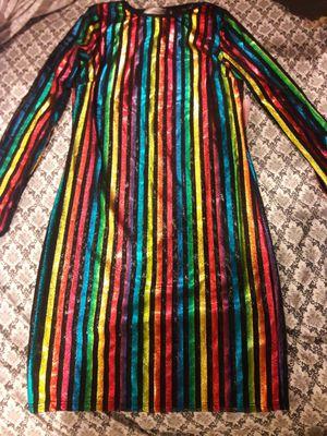 Happy New year! Stripped dress!! for Sale in Wyndmoor, PA