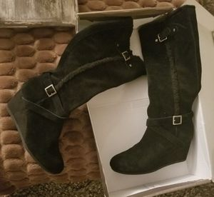 Real suede Giani Bernini boots for Sale in Tarpon Springs, FL