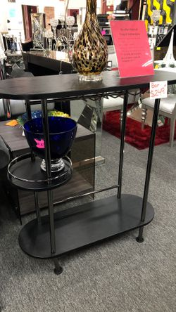 Charcoal Grey Finish Bar Table JS7V1 for Sale in Irving,  TX