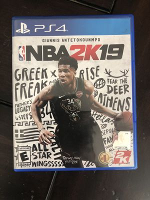 PS4 NBA 2K19 VIDEO GAME for Sale in Santa Clarita, CA
