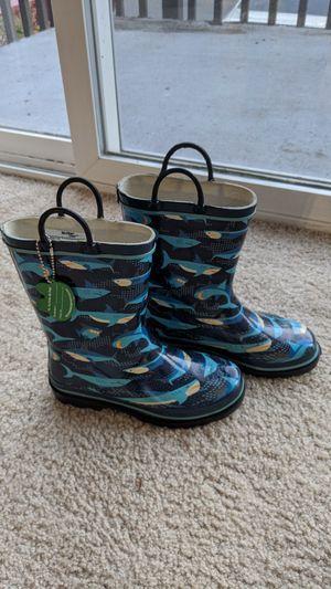 Western Chief shark rain boots size 2 for Sale in Bellevue, WA
