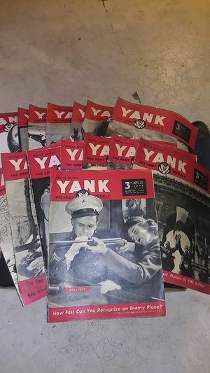"""YANK"" The Army Weekly Brittish Edition for Sale in Aberdeen, WA"