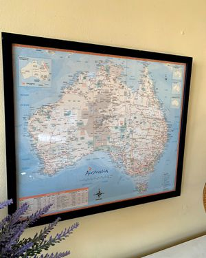 Oz Picture Frame (Map of Australia) for Sale in Los Angeles, CA