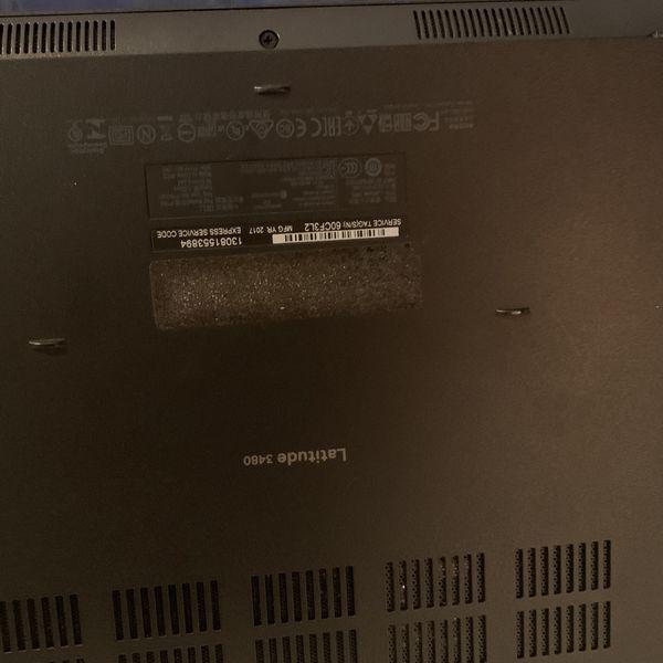 Dell Latitude 3480 Windows 10