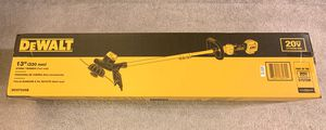"""Brand new DeWALT 20-Volt Electric Cordless 13"""" String Trimmer (Tool Only) for Sale in Arcadia, CA"""