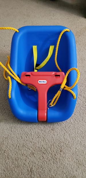 Little Tikes 2-in-1 Snug 'n Secure Swing - Blue for Sale in Manchester, MO