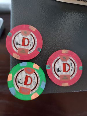 $35 in chips to the D in Las Vegas for Sale in Phoenix, AZ