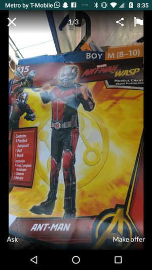 Ant man size 8-10 for Sale in Norwalk, CA