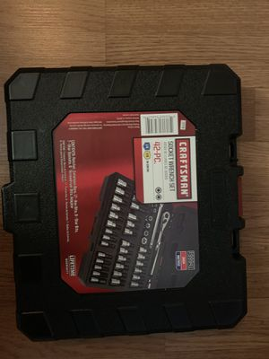 Craftsman 42 piece socket wrench set for Sale in Williamsport, PA