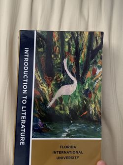 FIU Intro To Lit Textbook for Sale in Miami,  FL