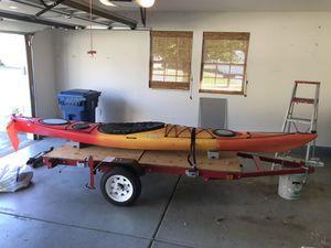 14 ft dagger alchemy kayak w/rudder for Sale in Lockport, IL