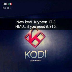 KODI KRYPTON 17.3 INSTALLATION.. for Sale in Bakersfield, CA