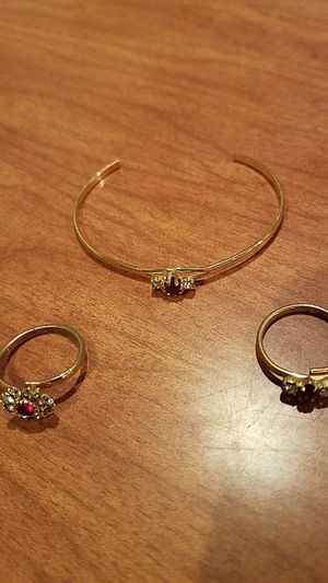 Rings and bracelet $.50 each for Sale in Campbell, CA