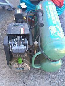 Hitachi dual tank compressor for Sale in Dunedin, FL