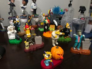 Simpson Halloween Toys 2001-2002 for Sale in Romoland, CA