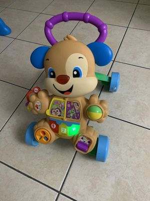 Fisher-Price laugh and learn smart stages puppy walk to for Sale in Lauderhill, FL