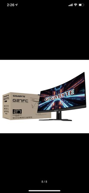 """GIGABYTE G27FC 27"""" 165Hz 1080P Curved Gaming Monitor for Sale in Los Nietos, CA"""