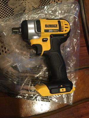 DeWalt wrench 1/2 20v for Sale in San Diego, CA