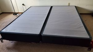 King Size Bed frame and Box Springs for Sale in Pittsburgh, PA
