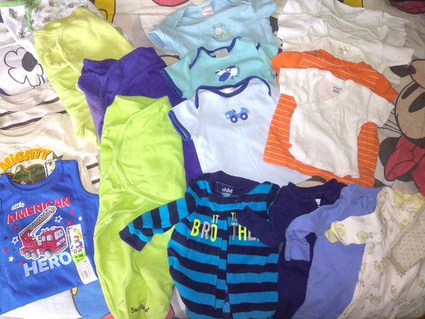 Baby Boy 0-3mo Lot