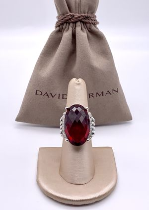 David Yurman Oval Garnet Wheaton Ring for Sale in Brooklyn, NY