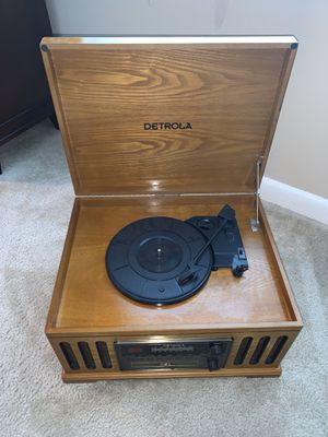 Never Before Used Detrola Record Player for sale!! for Sale in Waldorf, MD