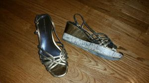 Strappy wedge heels for Sale in Smyrna, TN