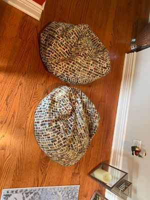 2 small bean bags for Sale in Chicago, IL