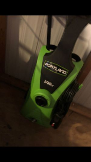 Portland 1750 psi pressure washer for Sale in Boiling Springs, SC